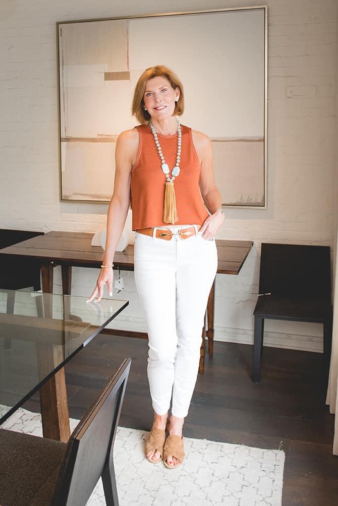 Libby Rush's Work Wardrobe