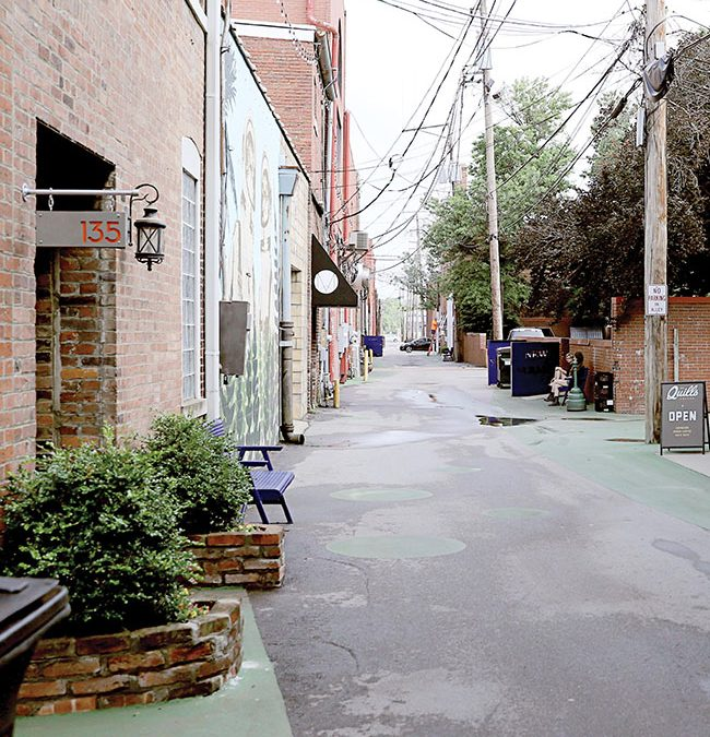 Hang Out in an Alley