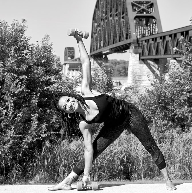 Why She Loves Yoga — and Belly Dancing
