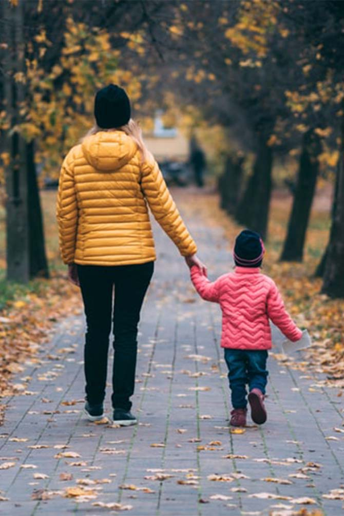 Family Walks Help Bring Out The Talks