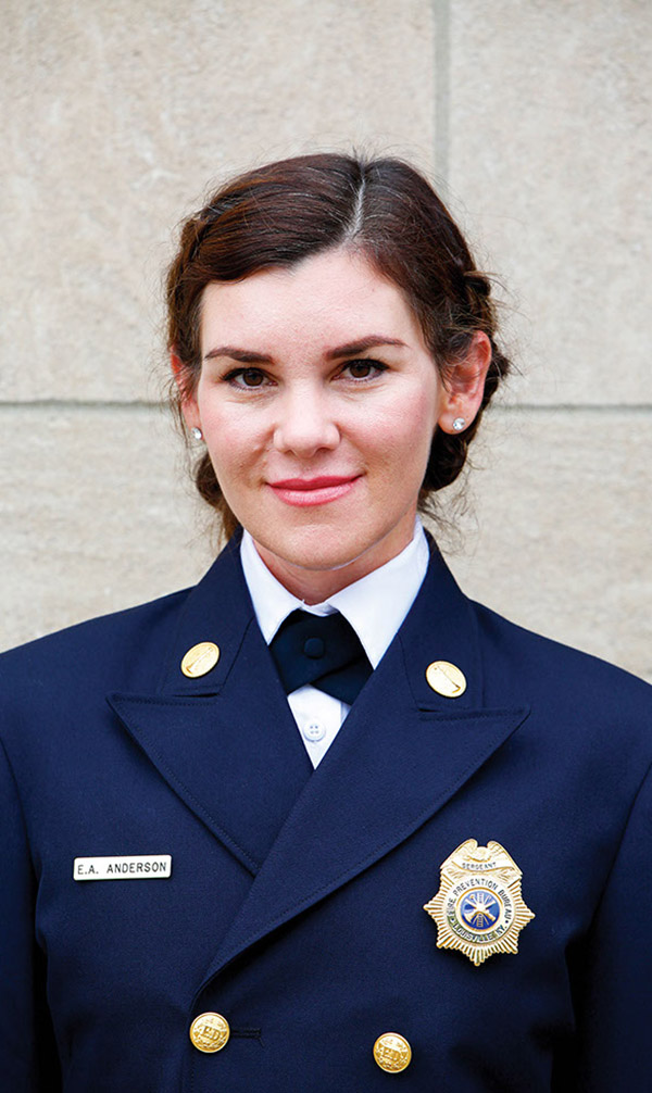 Education Honorees: Most Likely to Save a Life — Ashby Anderson